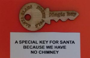 Santa's magic key  Christmas tradition 25 - 100 Wholesale